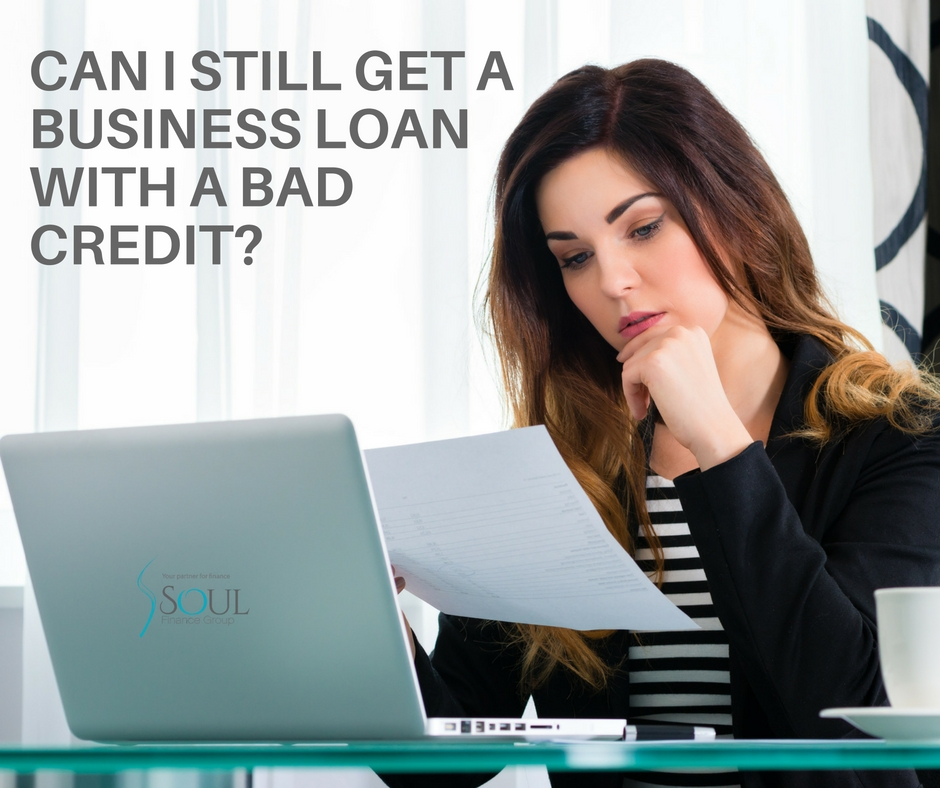 bad credit; business loan