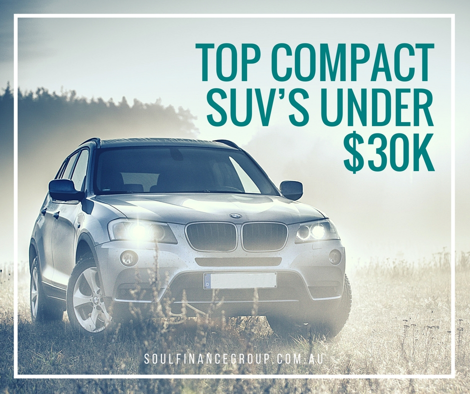 compact SUV, SUV, top compact SUV, car finance