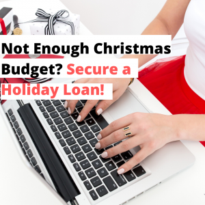 holiday loan, personal loan, Christmas loan
